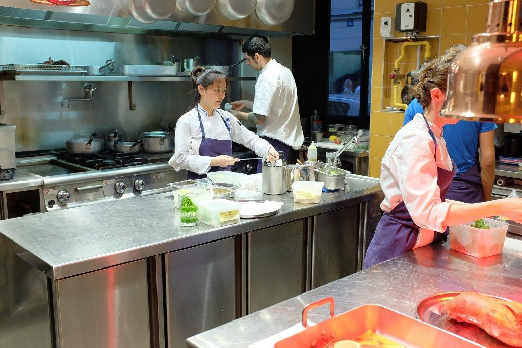 Passerini, Chef Giovanni Passerini, Parigi