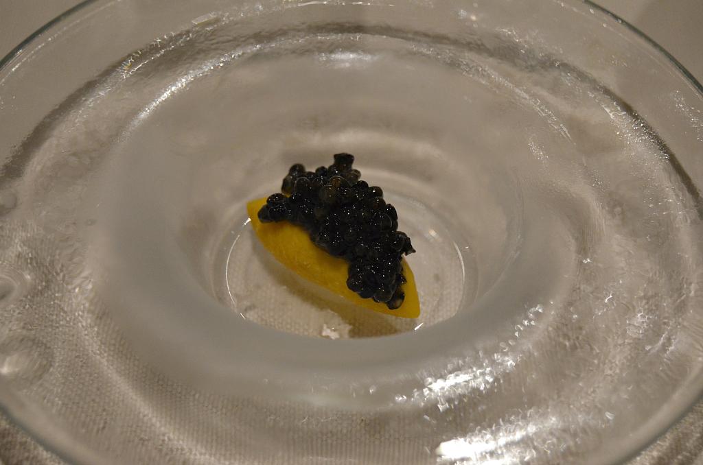 Caviale affumicato, Casa Perbellini, Chef Giancarlo Perbellini, Verona