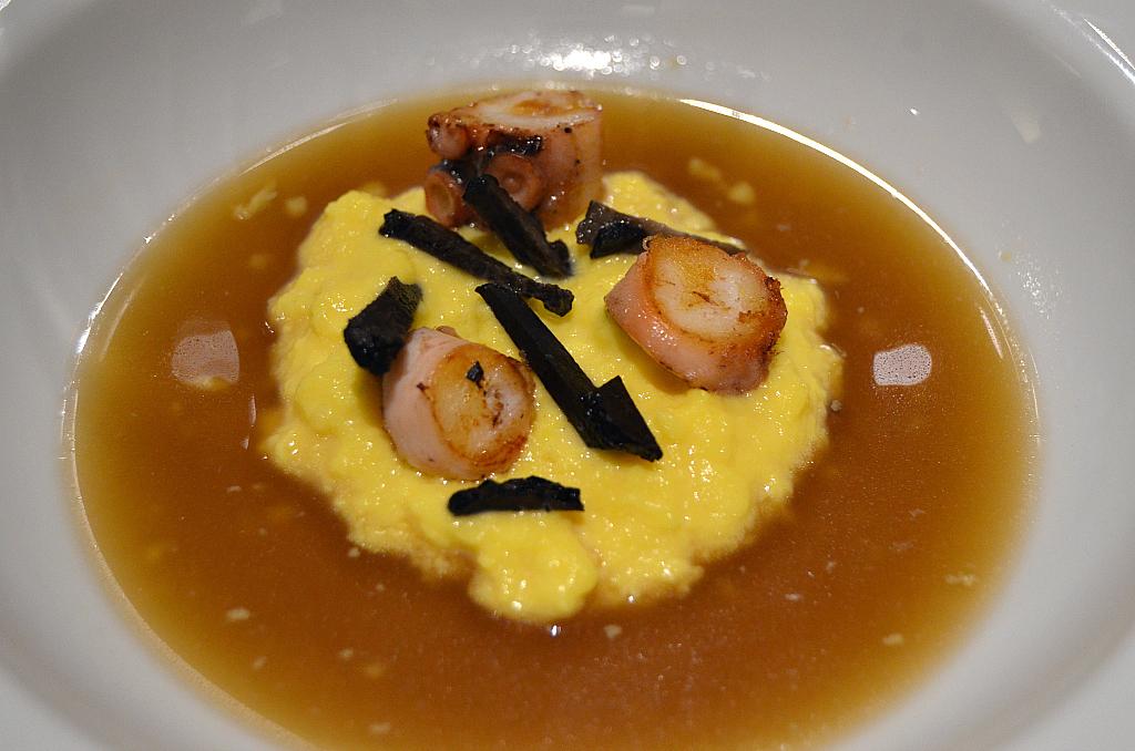 uova strapazzate, Casa Perbellini, Chef Giancarlo Perbellini, Verona
