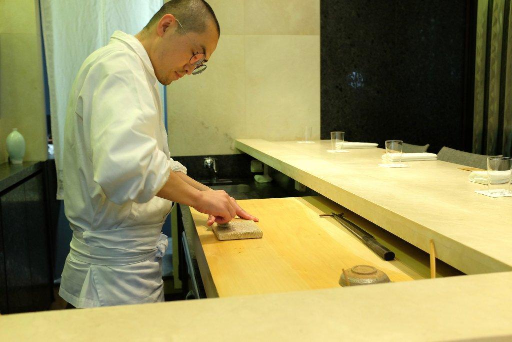 sushi master, Sushi B, Chef Masayoshi Hanada, Paris