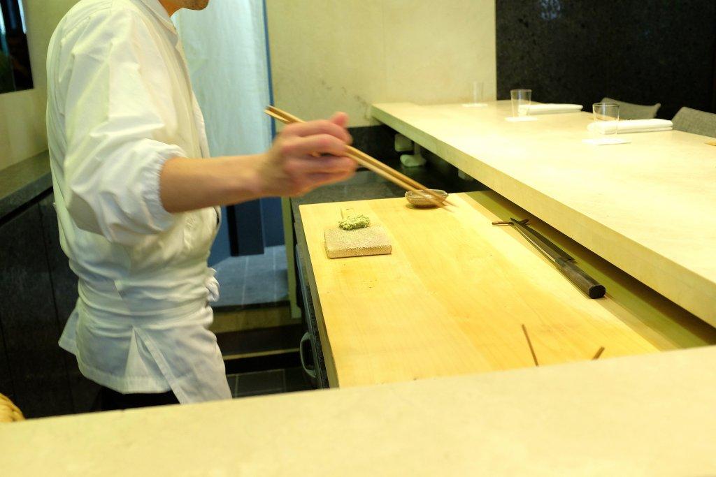 Sushi B, Chef Masayoshi Hanada, Paris