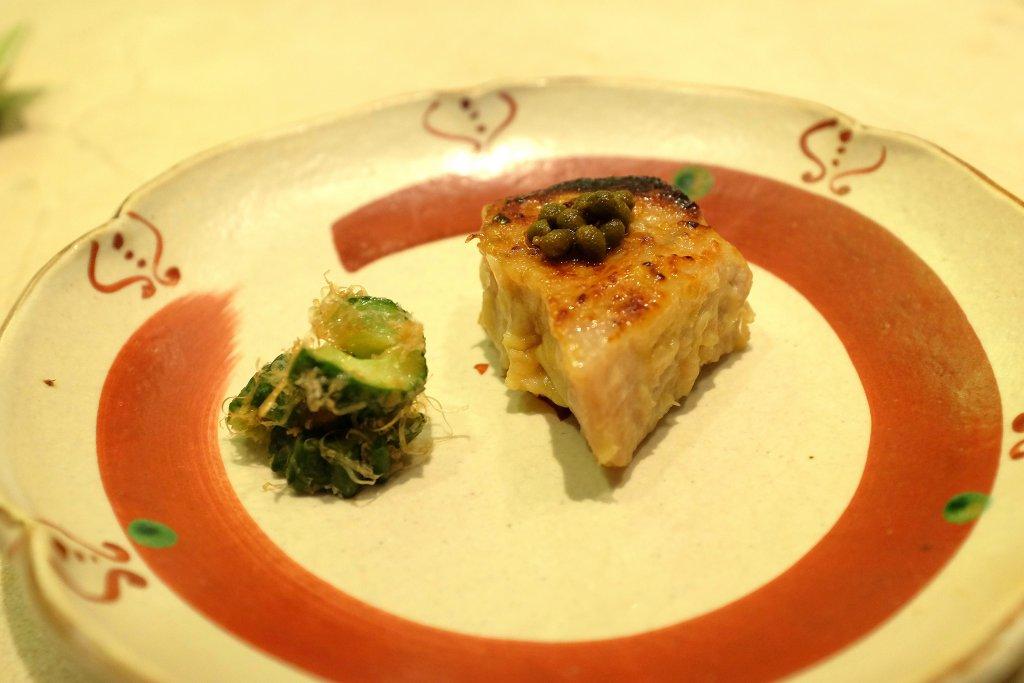 tonno grigliato al miso bianco, Sushi B, Chef Masayoshi Hanada, Paris