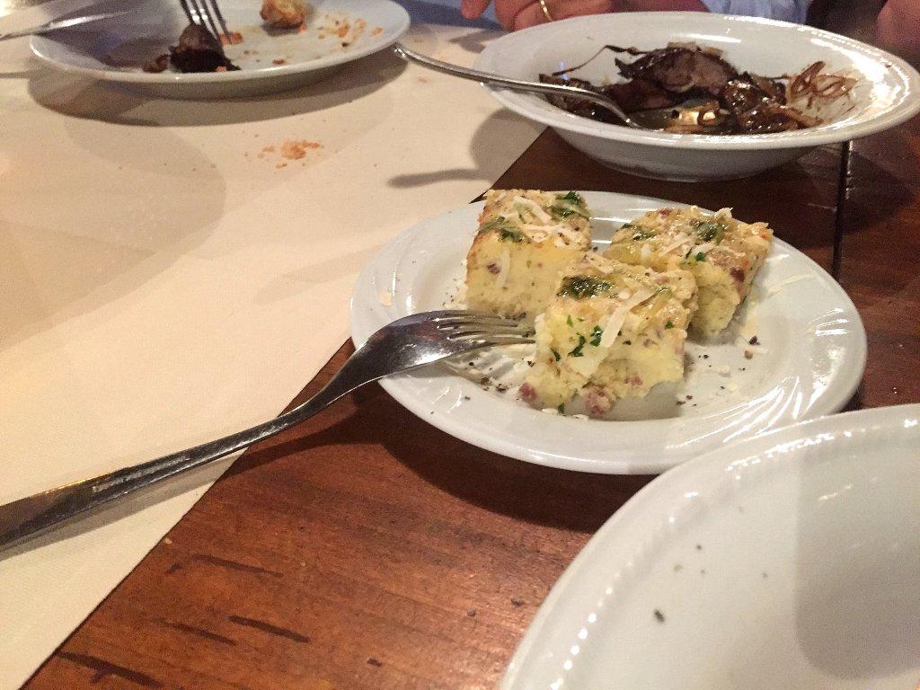 torta di patate, Ca' Murani, Chef Remo Camurani, Faenza, Ravenna