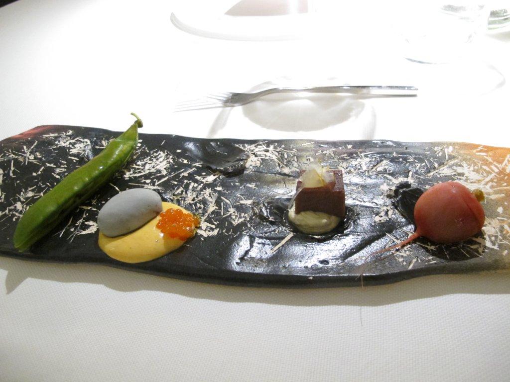 Appetizer, I Due Buoi, Chef Andrea Ribaldone, Alessandria