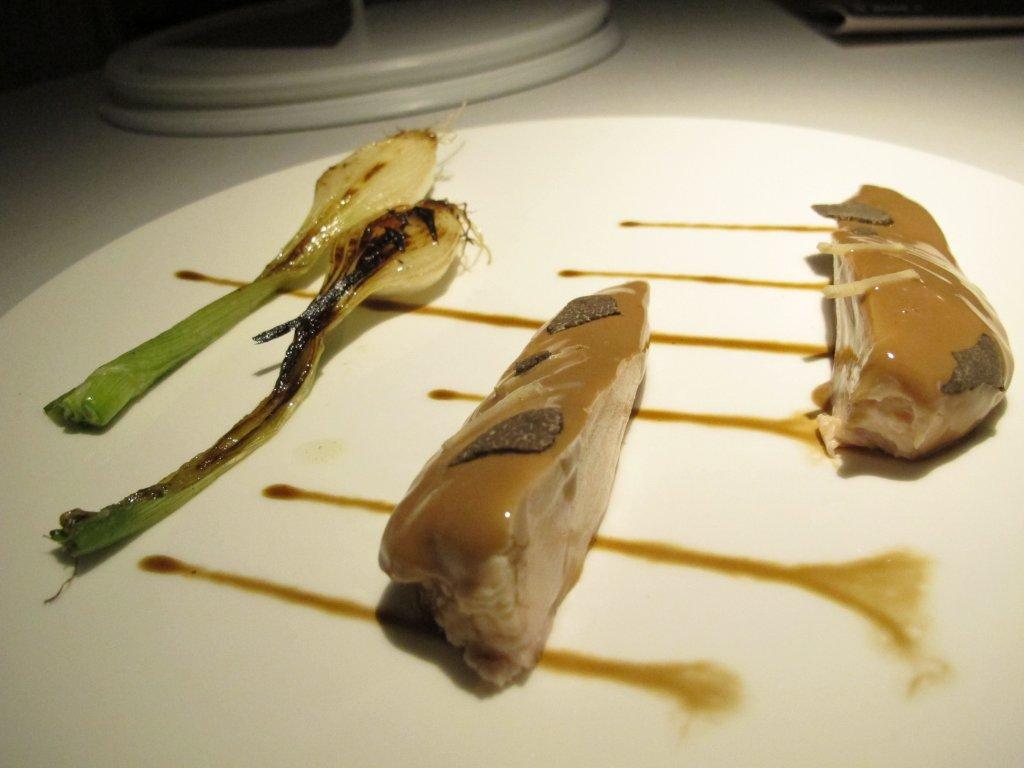 Bianco di pollo, I Due Buoi, Chef Andrea Ribaldone, Alessandria