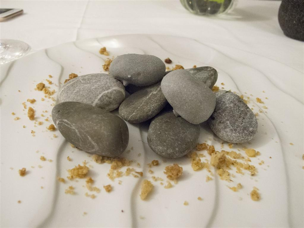 sassi edibili, Quattro Passi, Tonino Mellino, Nerano