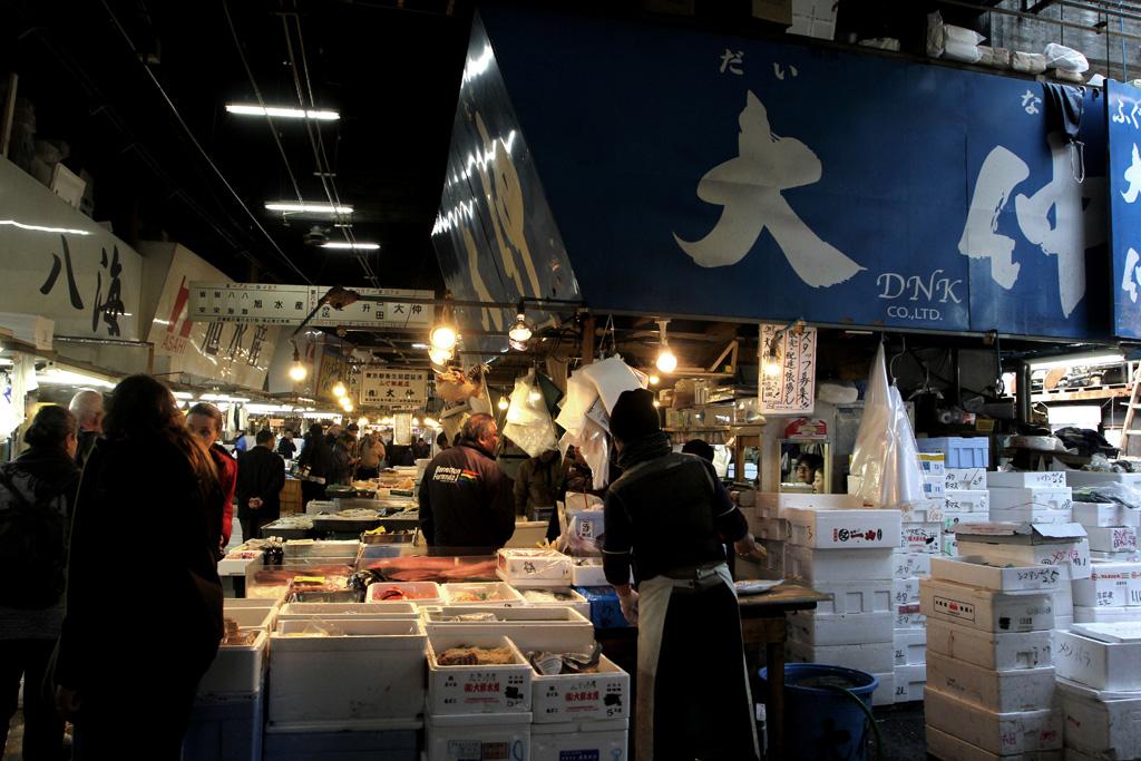 Tsukiji Market – Daiwa Sushi, Tokyo