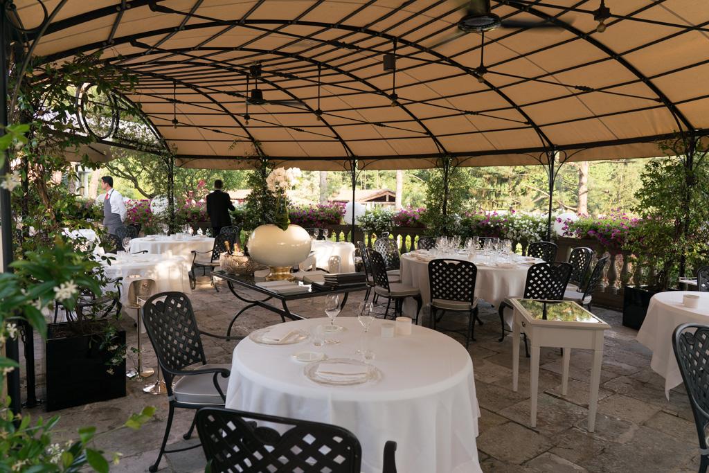 dehors, Da Vittorio, Fratelli Cerea, Brusaporto, Bergamo