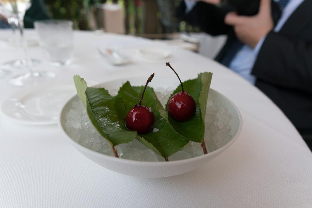 ciliegia foie gras, Da Vittorio, Fratelli Cerea, Brusaporto, Bergamo