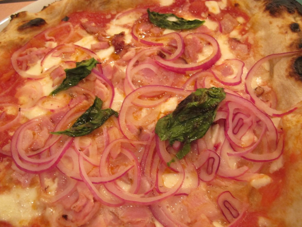 Matriciana,pizza, Pizzeria Zero81, Sergio Gargiulo, Treviso