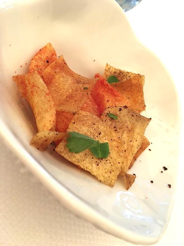 chips, Maison Decoret, Chef Jacques Decoret, Vichy, France