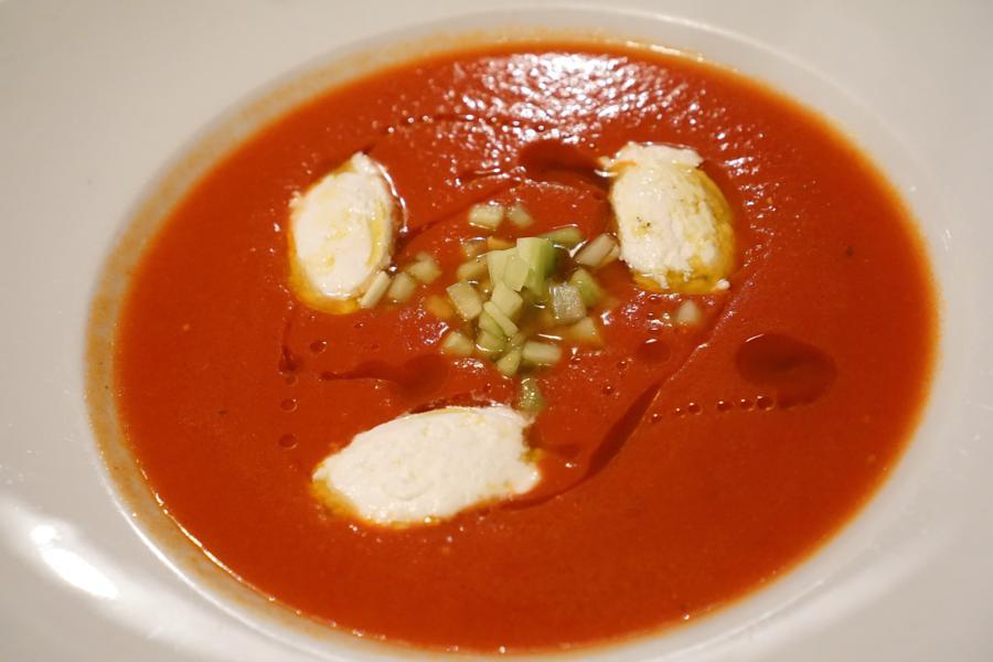 zuppa fredda, Al Pompiere, Chef Marco Dandrea, Verona