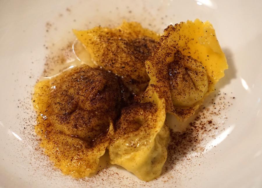 tortelli, Al Pompiere, Chef Marco Dandrea, Verona