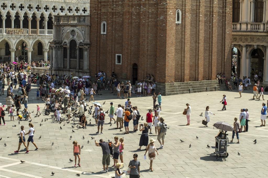 Piazza San Marco, Quadri, Chef Silvio Giovadoni, Venezia