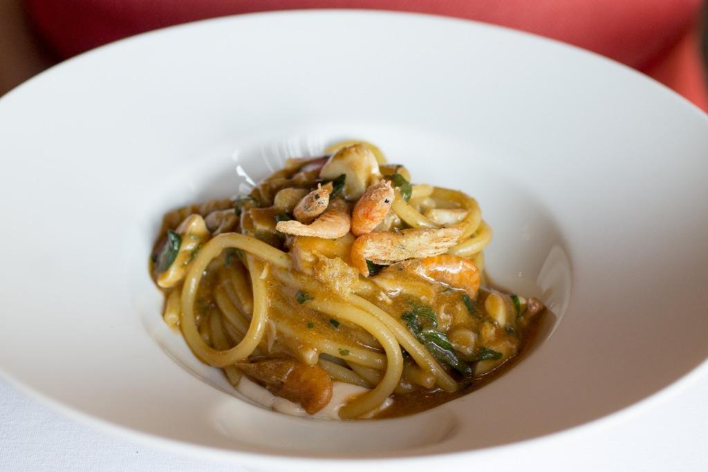 spaghetti alla busara, Quadri, Chef Silvio Giovadoni, Venezia, Piazza San Marco