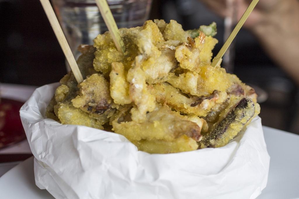 scartosso de pesse, Quadri, Chef Silvio Giovadoni, Venezia, Piazza San Marco