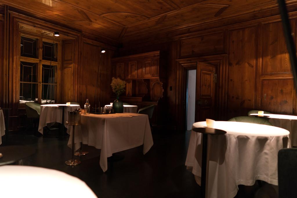 sala, Schloss Schauenstein, Chef Andreas Caminada, Svizzera