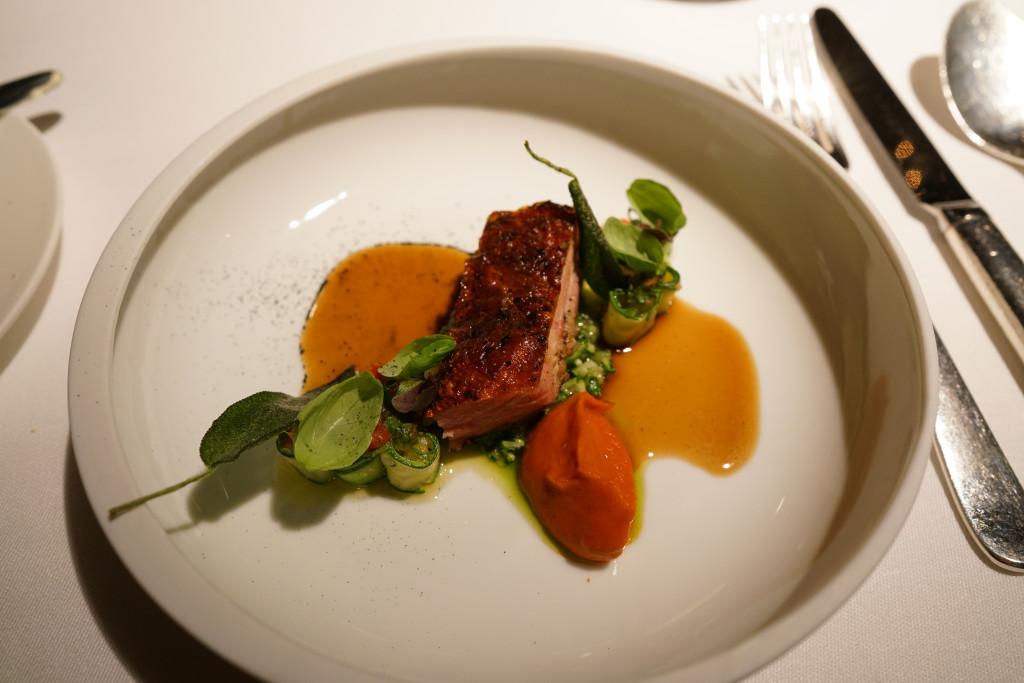 pollo della val lumnezia, Schloss Schauenstein, Chef Andreas Caminada, Svizzera