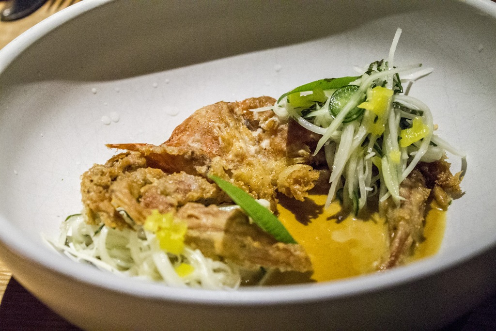 soft shell crab, Cosme, Chef Enrique Olvera, New York