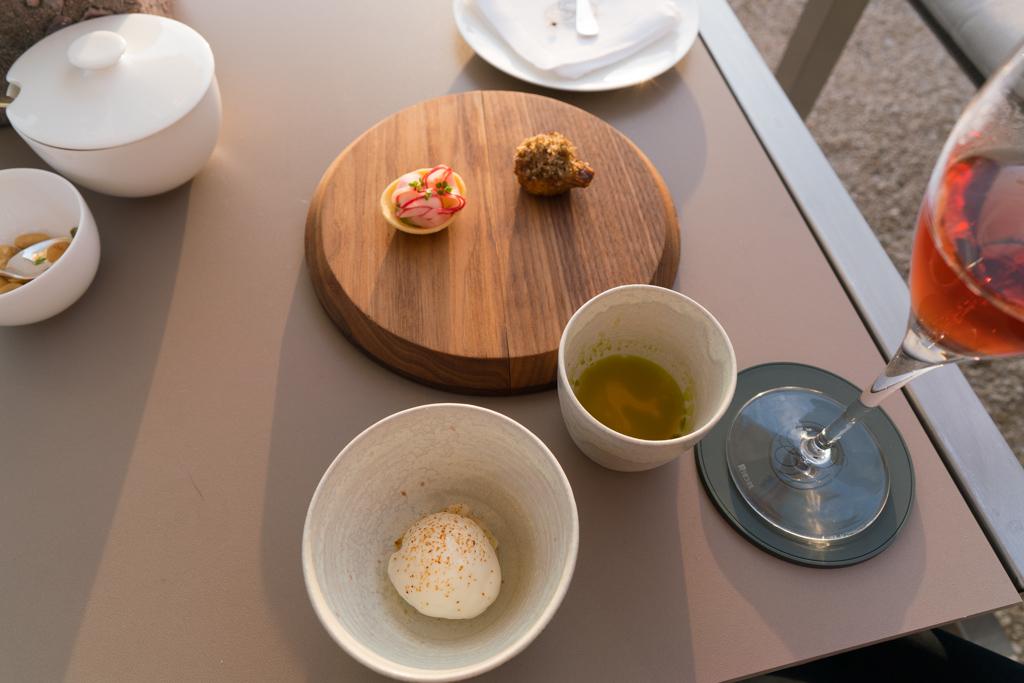 amuse-bouche, Focus, Chef Nenand Mlinarevic, Park Hotel, Vitznau, Svizzera