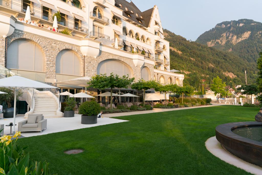 Focus, Chef Nenand Mlinarevic, Park Hotel, Vitznau, Svizzera
