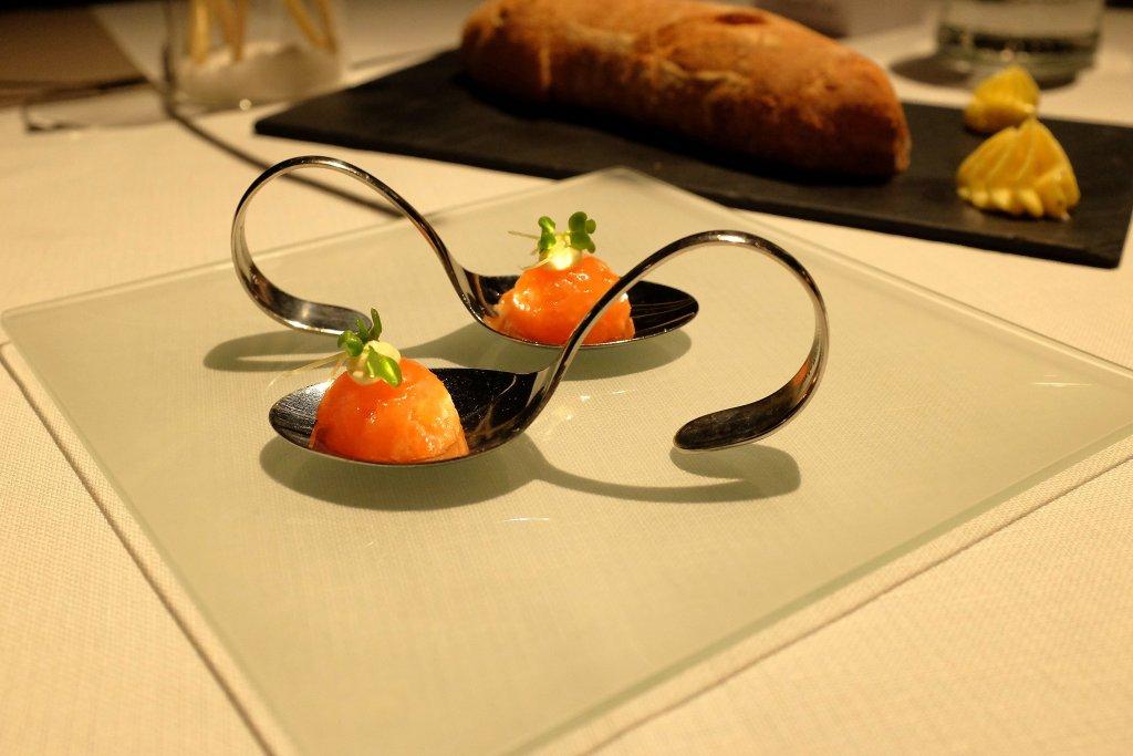 amuse bouche, Alla Lepre, Chef Roberto Stefani, Desenzano del Garda, Brescia