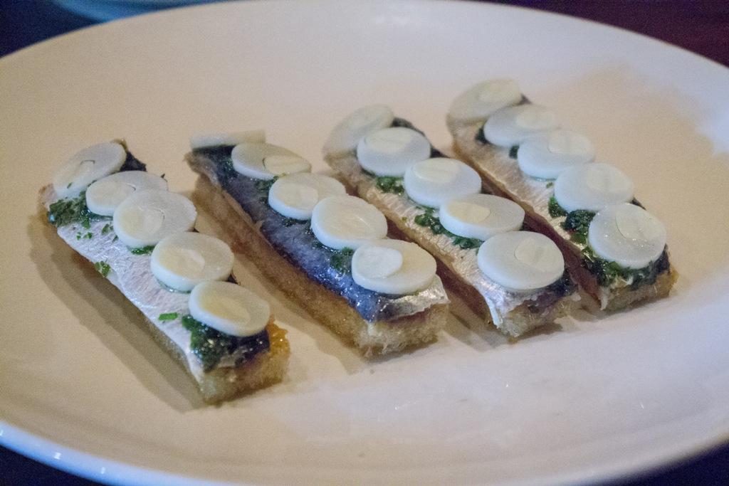 sardine, Momofuku Ssam Bar, Chef David Chang, Matthew Rudofker, New York