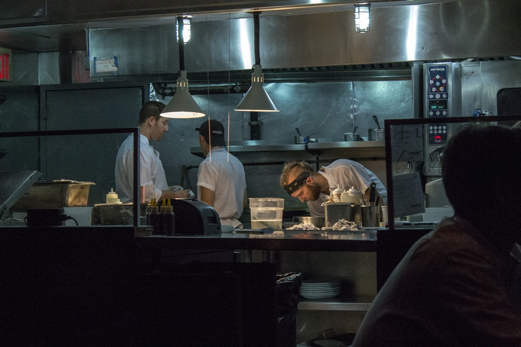 Momofuku Ssam Bar, Chef David Chang, Matthew Rudofker, New York