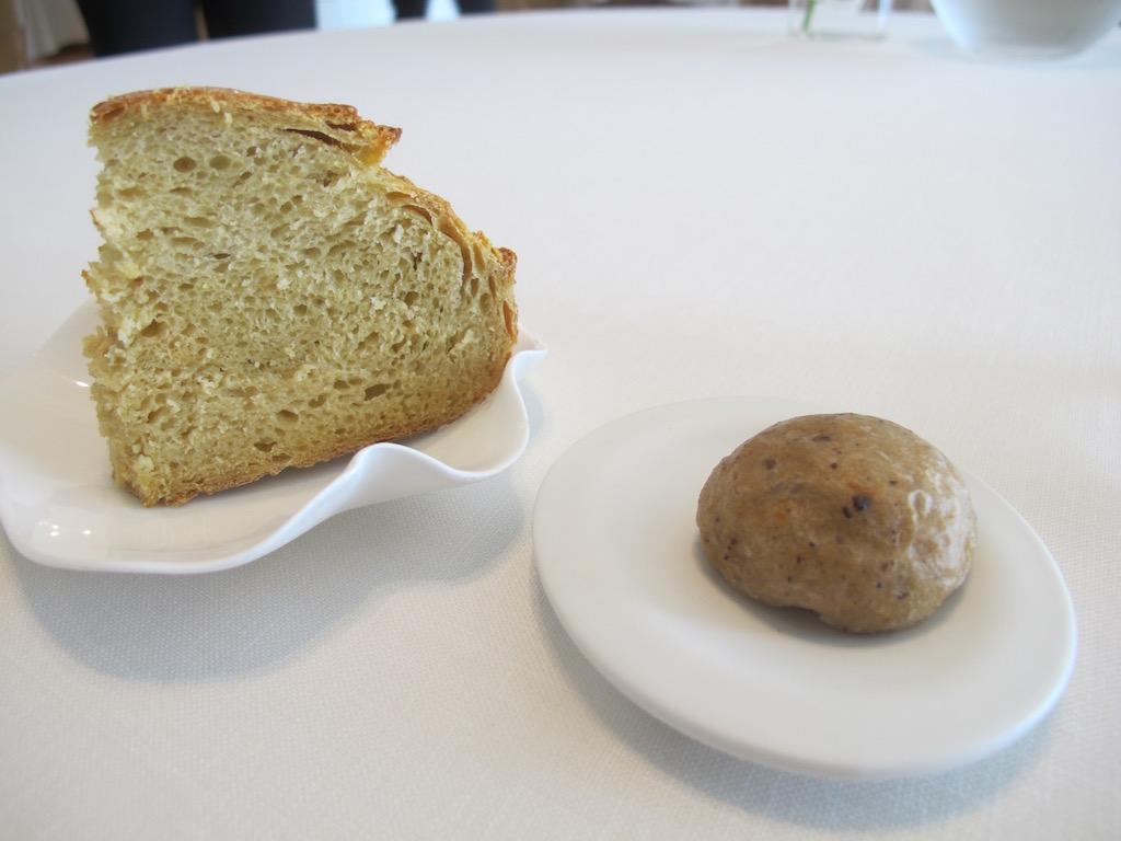 pane, Nerua, Chef Josean Alija, Bilbao, Spagna