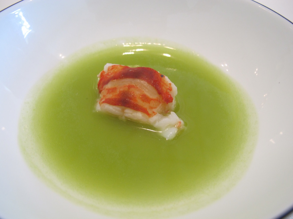 astice, Nerua, Chef Josean Alija, Bilbao, Spagna