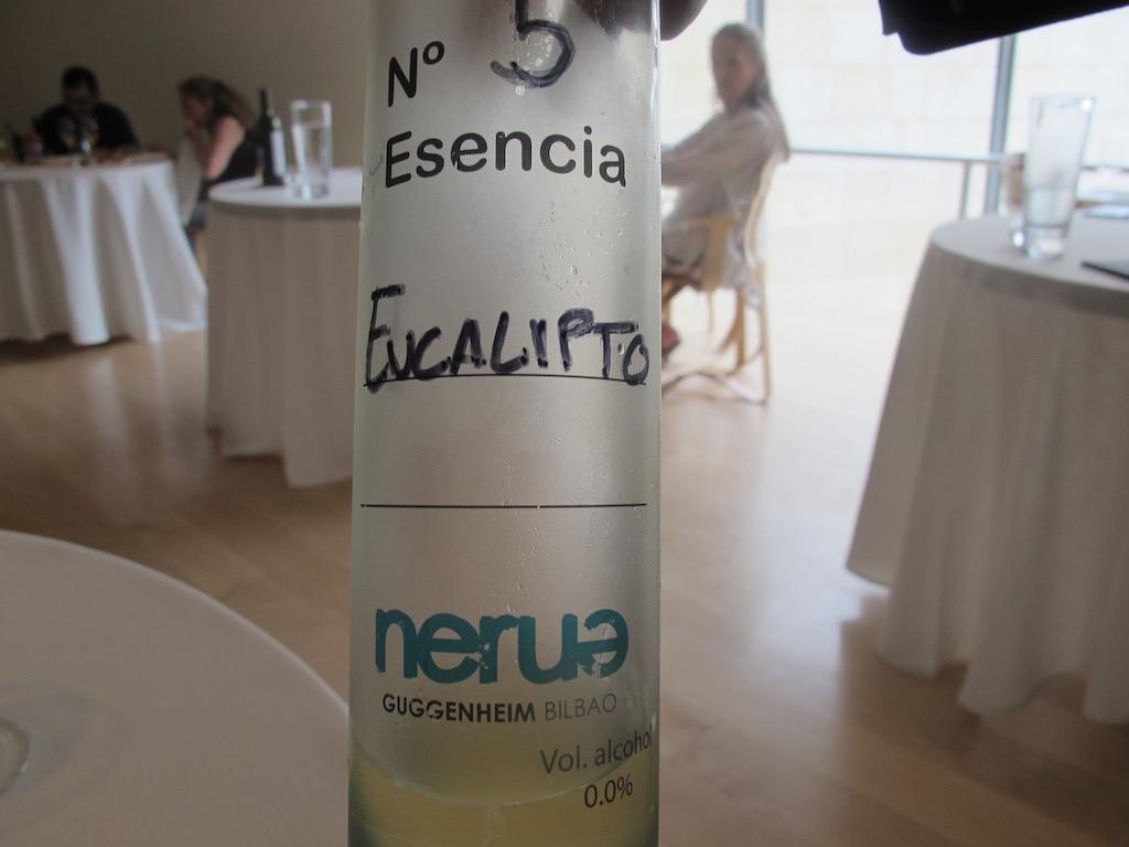 esencia, Nerua, Chef Josean Alija, Bilbao, Spagna