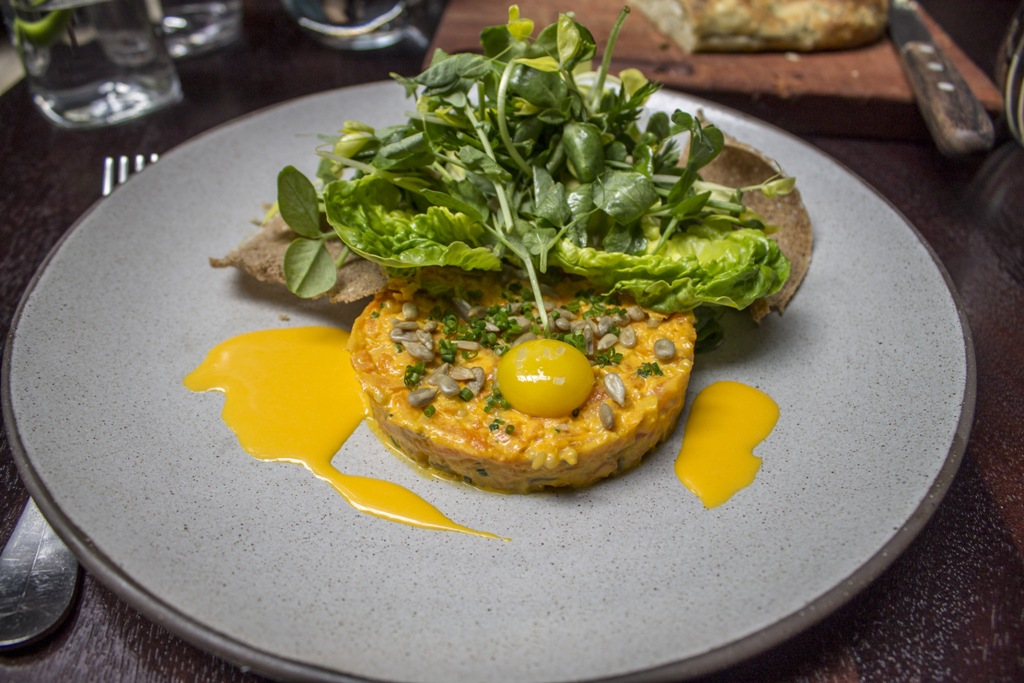 tartare di carota, NoMad, Chef Daniel Humm, Abram Bissell, Broadway, New York, 50 best