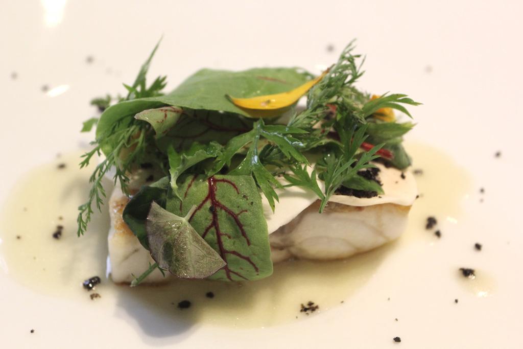 spigola, Quintessenza, Chef Stefano Di Gennaro, Trani, Barletta, Puglia