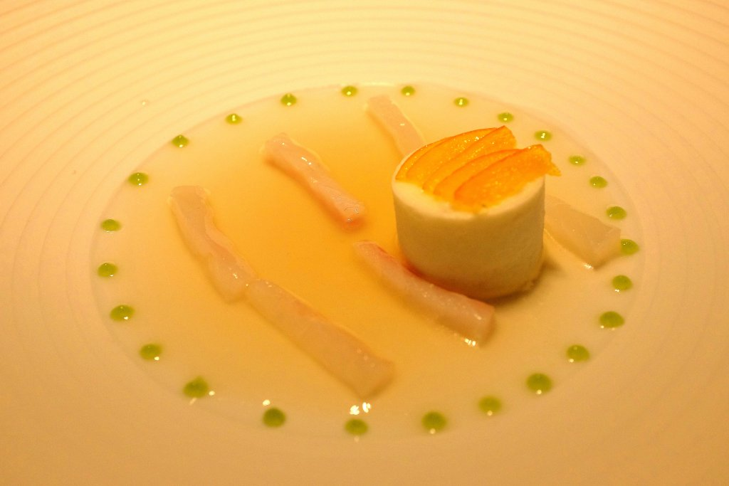 Hamachi, aperitivo, Casa Vissani, Chef Gianfranco Vissani, Baschi, Umbria