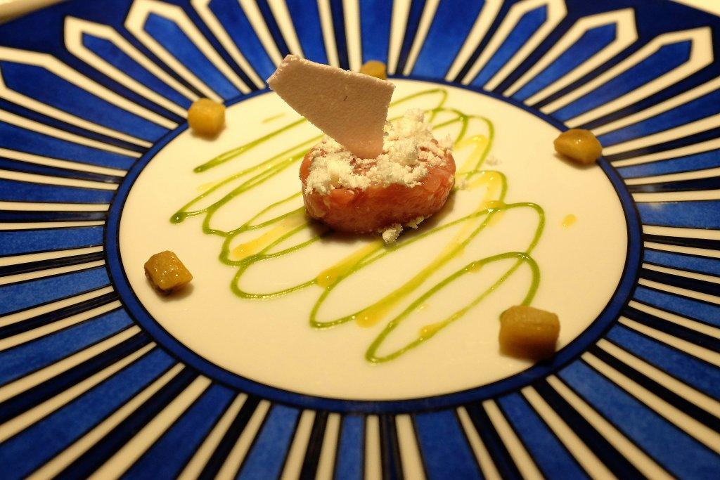 tartare di pollo, aperitivo, Casa Vissani, Chef Gianfranco Vissani, Baschi, Umbria