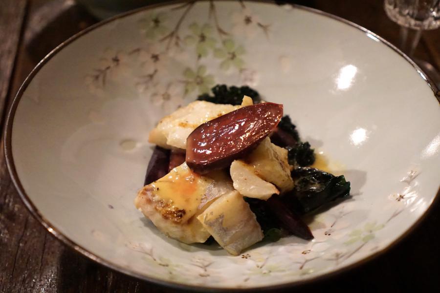 filetto di merluzzo, Apelle, Chef Martina Mosco, Ferrara