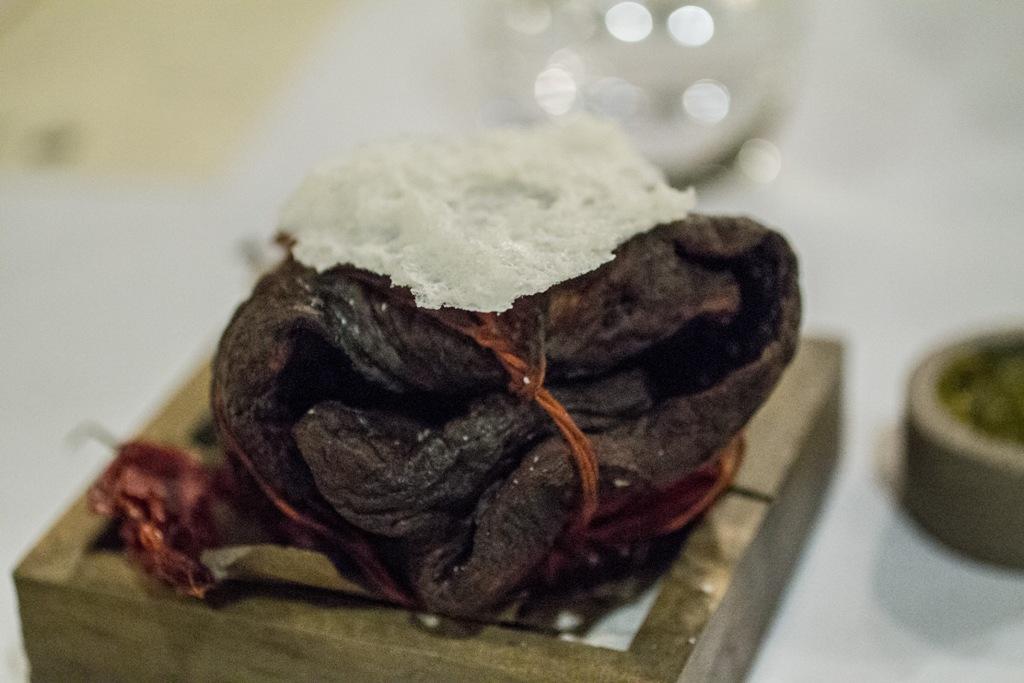 cuore di manzo, Central, chef Virgilio Martinez, Miraflores Lima, Peru