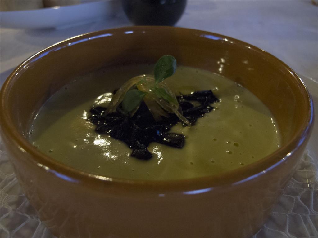 crema di zucchine, 21.9, Chef Flavio Costa, Piovessi D'Alba, Cuneo, Piemonte