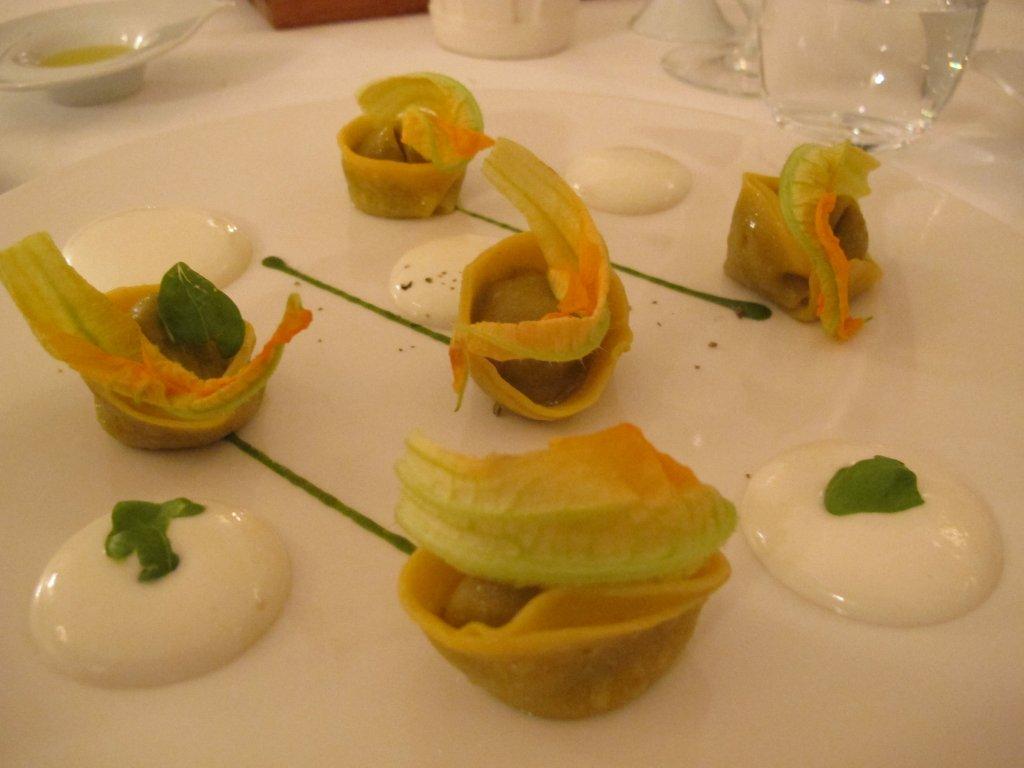tortelli alla Nerano, Don Geppi, chef Mario Affinita, Sant'Agnello, Sorrento