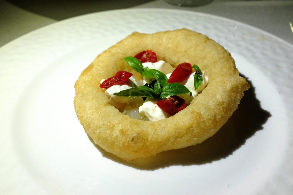 pizza fritta, Flauto di Pan, Chef Crescenzo Scotti, Ravello