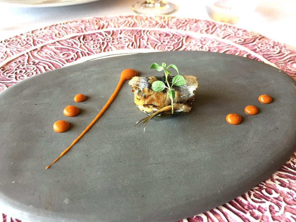 sarda,  Locanda Gulfi, Chef Ninni Radicini, Chiaramonte Gulfi, Ragusa, Sicilia
