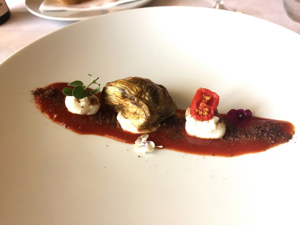 melanzana,  Locanda Gulfi, Chef Ninni Radicini, Chiaramonte Gulfi, Ragusa, Sicilia