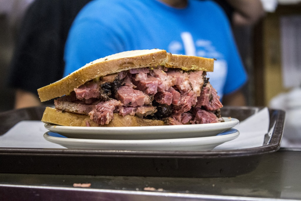 pastrami sandwich, New York, katz's