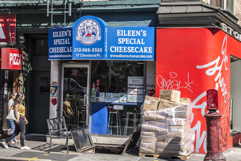 Eileen's, New York, cheesecake