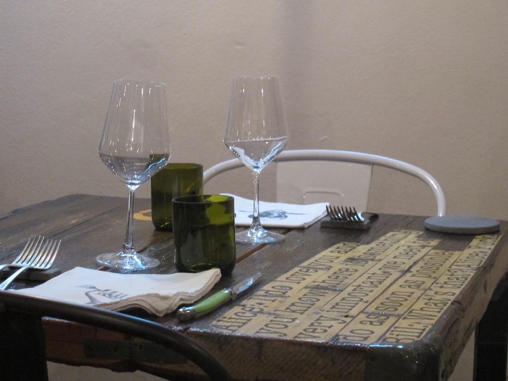 mis en place, Punto - Officina del Gusto, Chef Damiano Donati, Lucca