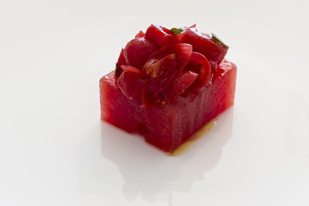 cocomero, Reale 2016, Chef Niko Romito, Castel di Sangro, aquila, abruzzo