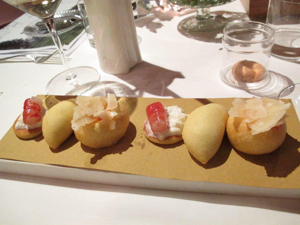 fritti, Le Trabe, Chef Peppe Stanzione, Paestum Capaccio, Salerno