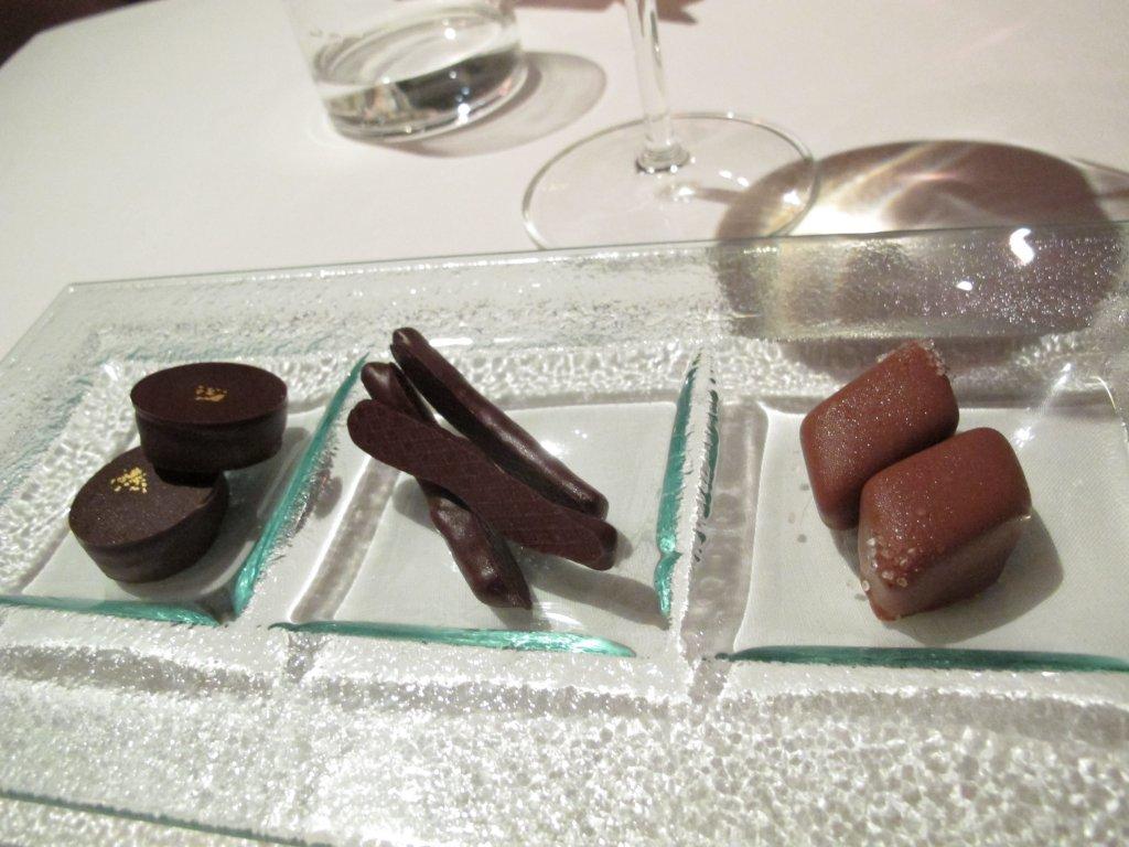 cioccolatini, Le Trabe, Chef Peppe Stanzione, Paestum Capaccio, Salerno