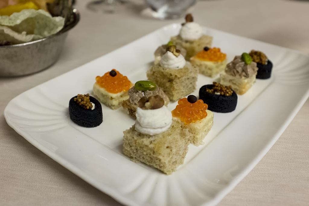 amuse bouche, Ristorante Cracco, Chef Carlo Cracco, Milano