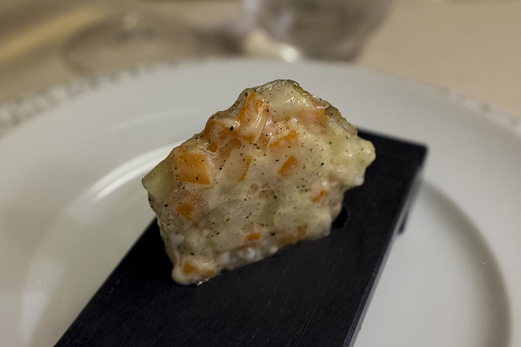 insalata russa caramellata, Ristorante Cracco, Chef Carlo Cracco, Milano